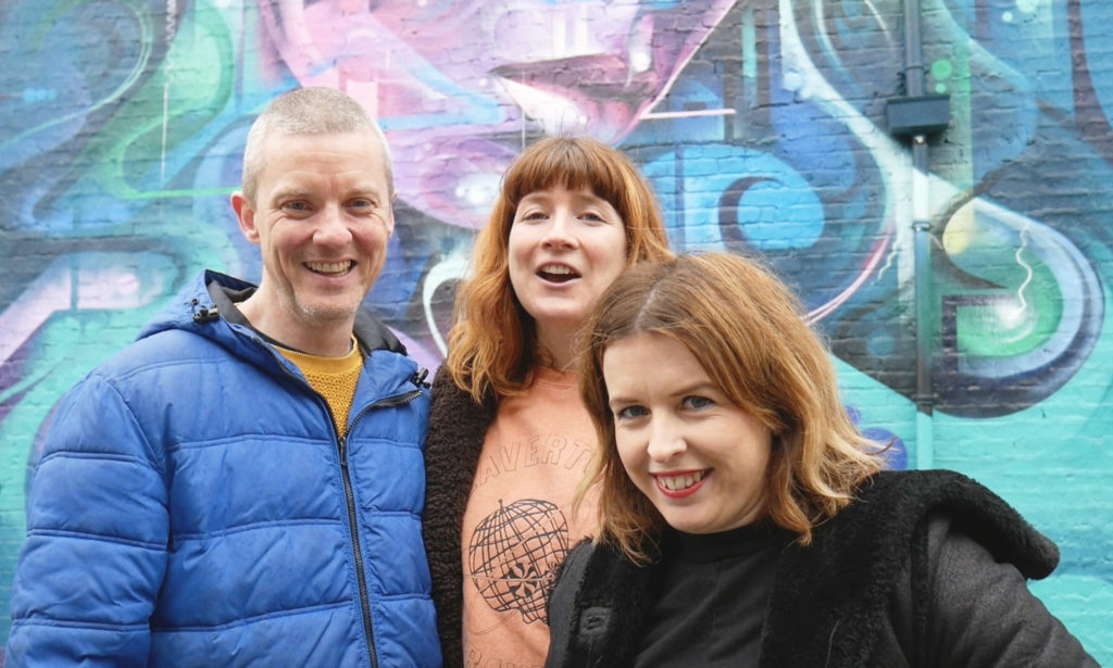 Gordon, Emily, Rachel